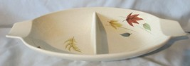 Franciscan Autumn Leaves Long Oval Divided Serving Dish - $22.66