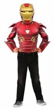 Rubie's Deluxe AVENGERS Iron Man Muscle Chest 4-6 SIZES - $21.00