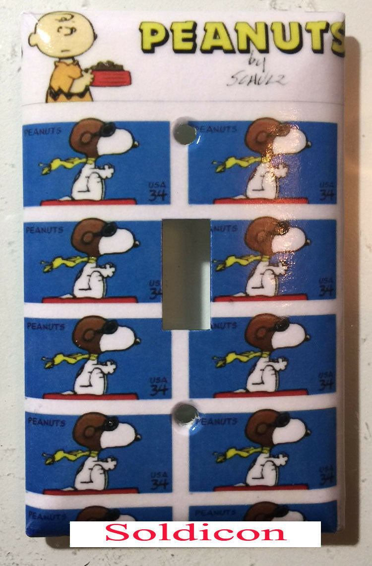 Snoopy stamps single toggle