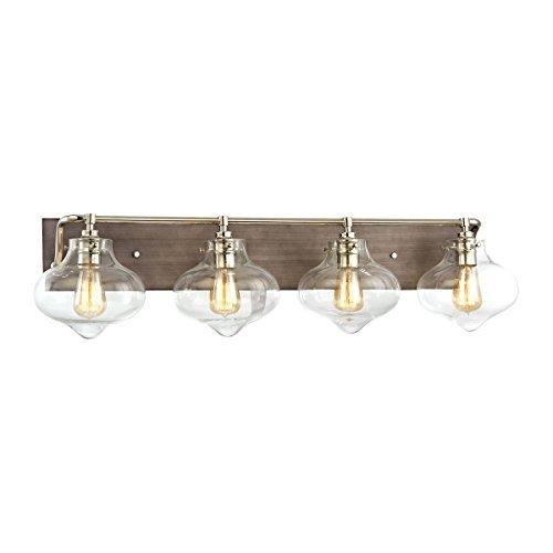 """Elk Lighting 31943/4 Vanity-Lighting-fixtures 9 x 37 x 9"""" Gray"""