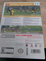 Nintendo Wii Madden NFL 09: All-Play ~ COMPLETE image 4