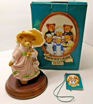 Department 56 DAPHNE BONNET, PRETTY AS A PICTURE Upstairs Downstairs Bears  - $15.59