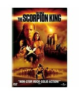 BRAND NEW FACTORY SEALED DVD The Scorpion King (Widescreen Collectors DVD - $12.86