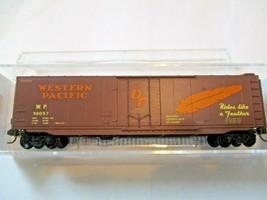 Micro-Trains # 03200510 Western Pacific 50' Standard Boxcar Plug Door N-Scale image 1