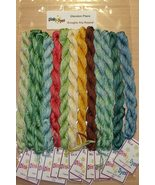 FLOSS BUNDLE for Boughs Ala Round christmas cross stitch chart Glendon P... - $52.92