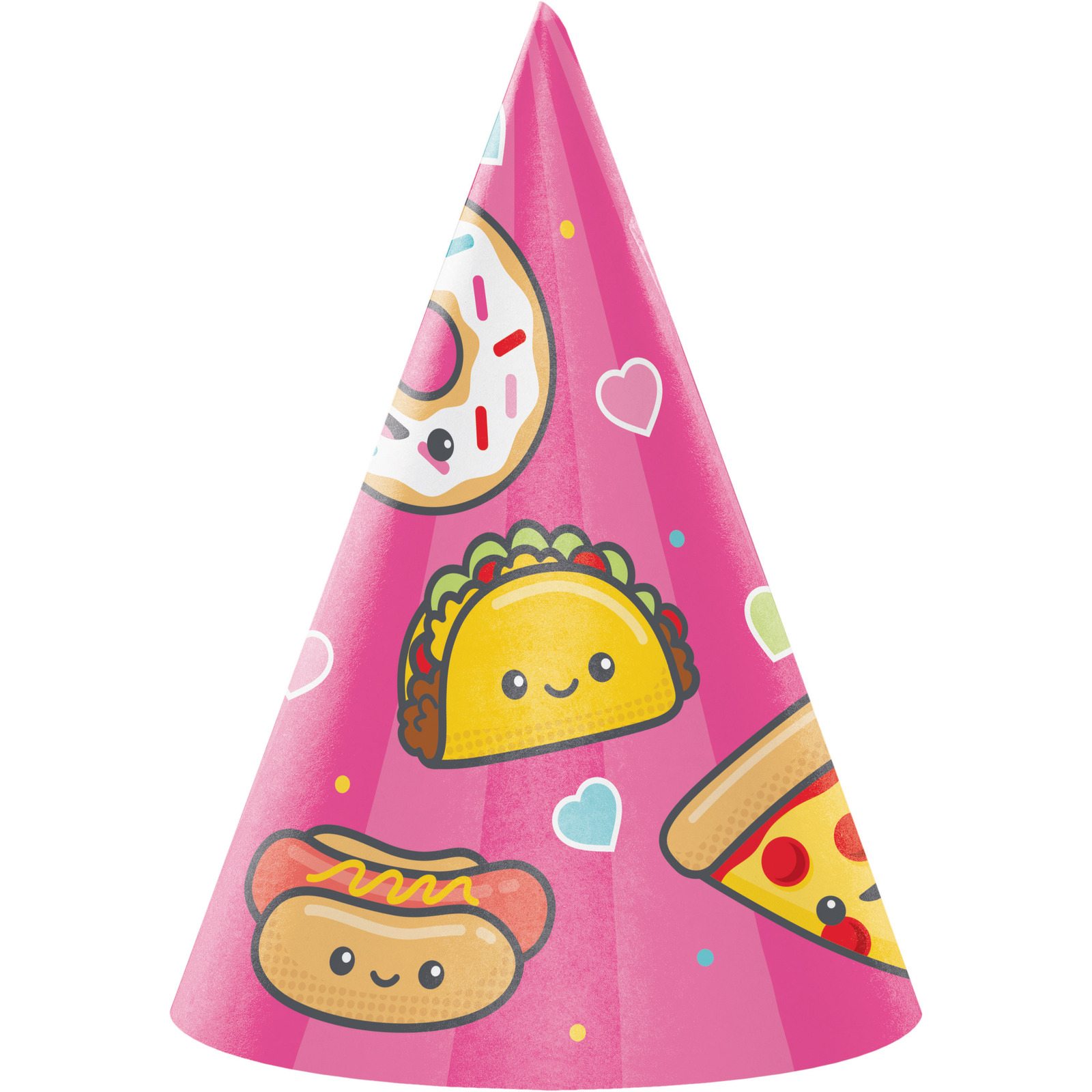 "Junk Food Fun 4 1/2"" x 6""H Child Size Hat, Case of 48"