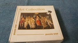 Spring Botticelli 540 Piece Art Puzzle (La Primavera Botticelli) Italy - $9.50