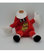 """Mr. Jelly Belly Plush RED VERY CHERRY Stuffed Bean Bag Toy 7"""" Beanie Dol... - $14.84"""