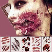 Horror Facial Halloween Sticker Face Knife - $16.30