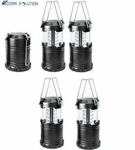 AcornSolution LED Camping Lantern,Powered with 1000LM, 4 Black lantern - $30.31