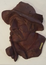 Vintage Schloss Waldeck Souvenir Resin Fishing Captain Man Hat Pipe - $29.69