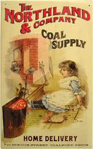 Northland Coal Supple Advertisement Rustic/Vintage Metal Sign - $19.95