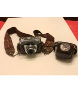 Zeiss Ikon Contessamat SE 35mm Vintage Rangefinder Camera with hard cove... - $100.00
