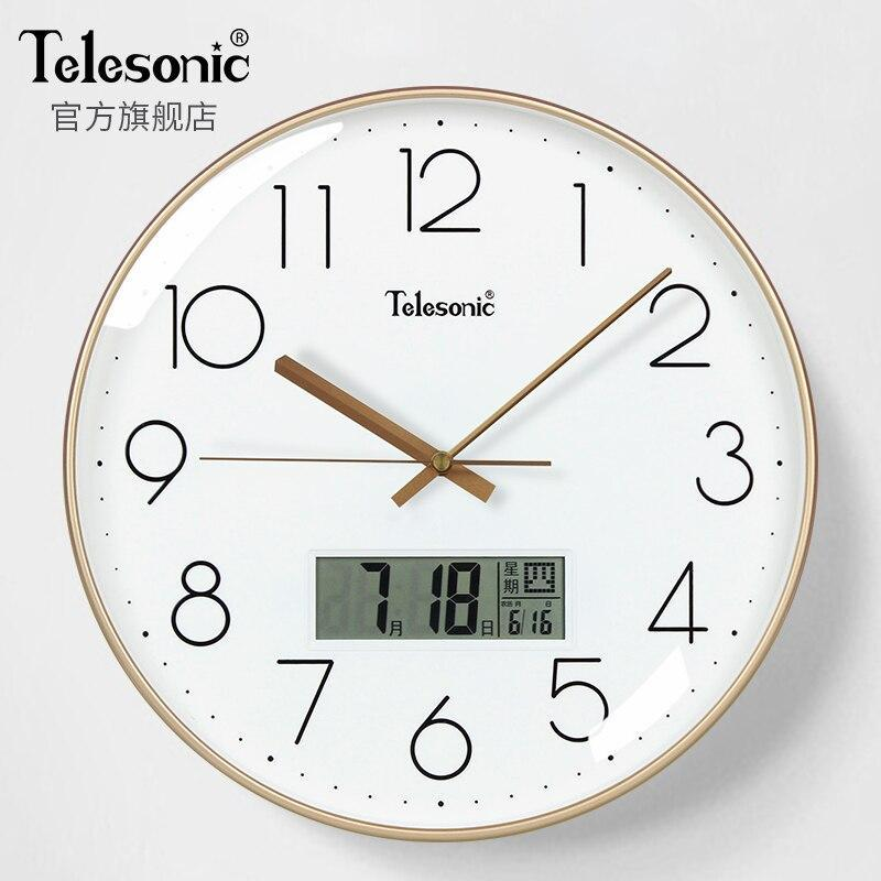 Primary image for Nordic Digital Silent Wall ClocksModern Design Wall Clocks Living Room Orologi P