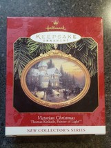 "1997 Hallmark Keepsake Ornament ""Victorian Christmas"" Kinkade, Painter o... - $7.00"