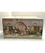 Circulon Premier Professional 13-piece Hard Anodized Cookware Set Bronze - $246.50