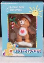 American Greetings Care Bears Tenderheart Ornament 2003 Santa Hat Candy ... - $14.53