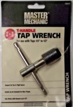"Master Mechanic 788644 T-Handle Tap Wrench 1/4-1/2"" Capacity - $4.46"