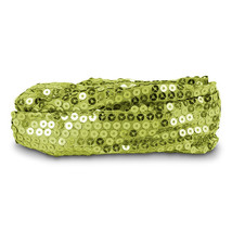 Headband, Calypso Studios Glitz Bendi Wire Sequin Headband, Light Green - $169,10 MXN