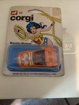 Corgi 1979 Wonder Woman Car DC Comics Mettoy - $46.53