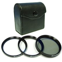 Maximal Power 74mm Lens Filter Kit Includes Circular Polarizer, UV and S... - $12.38