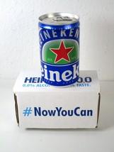 Heineken 0.0% Alcohol Free MINI CAN 5.1 FL. OZ Sample New In Box - $10.49
