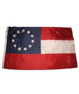 3x5 Stars and Bars First National 11 Southern States CSA Civil War flag ... - $20.00