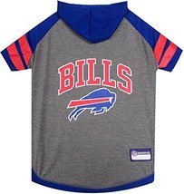 Pets First NFL Buffalo Bills Hoodie for Dogs & Cats. NFL Football Licens... - $17.81