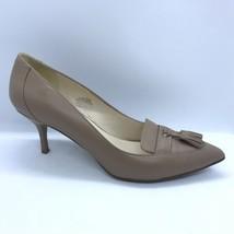 Nine West Point Toe Heels Women Size 7.5 Nude Short Heel - $30.00