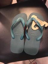 Havaianas Flip Flops  New Women 's Sandals Shoes  Green SZ 6 - $21.60