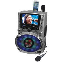"""Karaoke Usa Dvd And Cd+g And Mp3+g Bluetooth Karaoke System With 7"""" Tft Col - $327.25"""