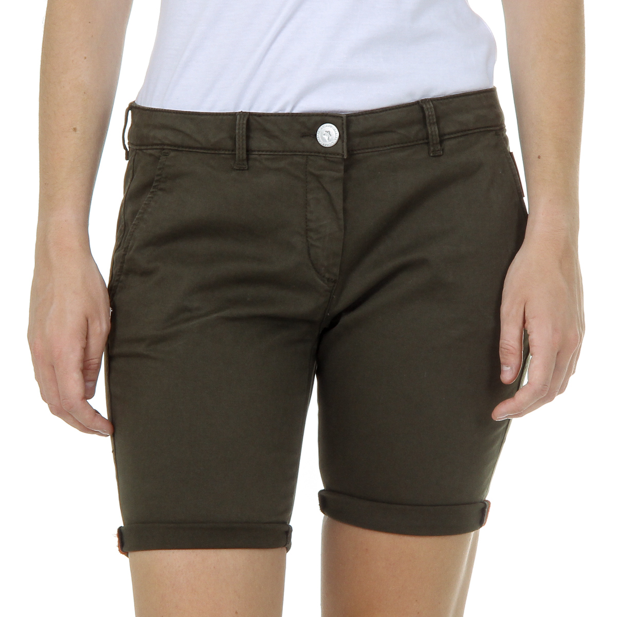 Primary image for Andrew Charles Womens Shorts Green SAFIA