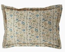 Ralph Lauren Constantina /Cassandra Floral Standard Pillow Sham  Cream/M... - $56.99