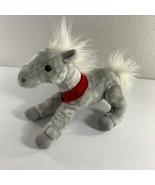 "Wells Fargo Shamrock Gray Pony Horse Plush Stuffed Animal 14"" Long Toy - $14.85"