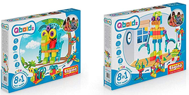 Engino Qboidz 8 in 1 mm COMBO Pack of 2 - Play to invent, Multi Model Game - $85.55