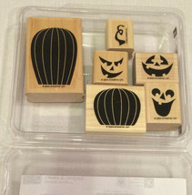 Stampin Up Carved & Candlelit Halloween 2004 NEW Never Used Pumpkin Retired - $11.22