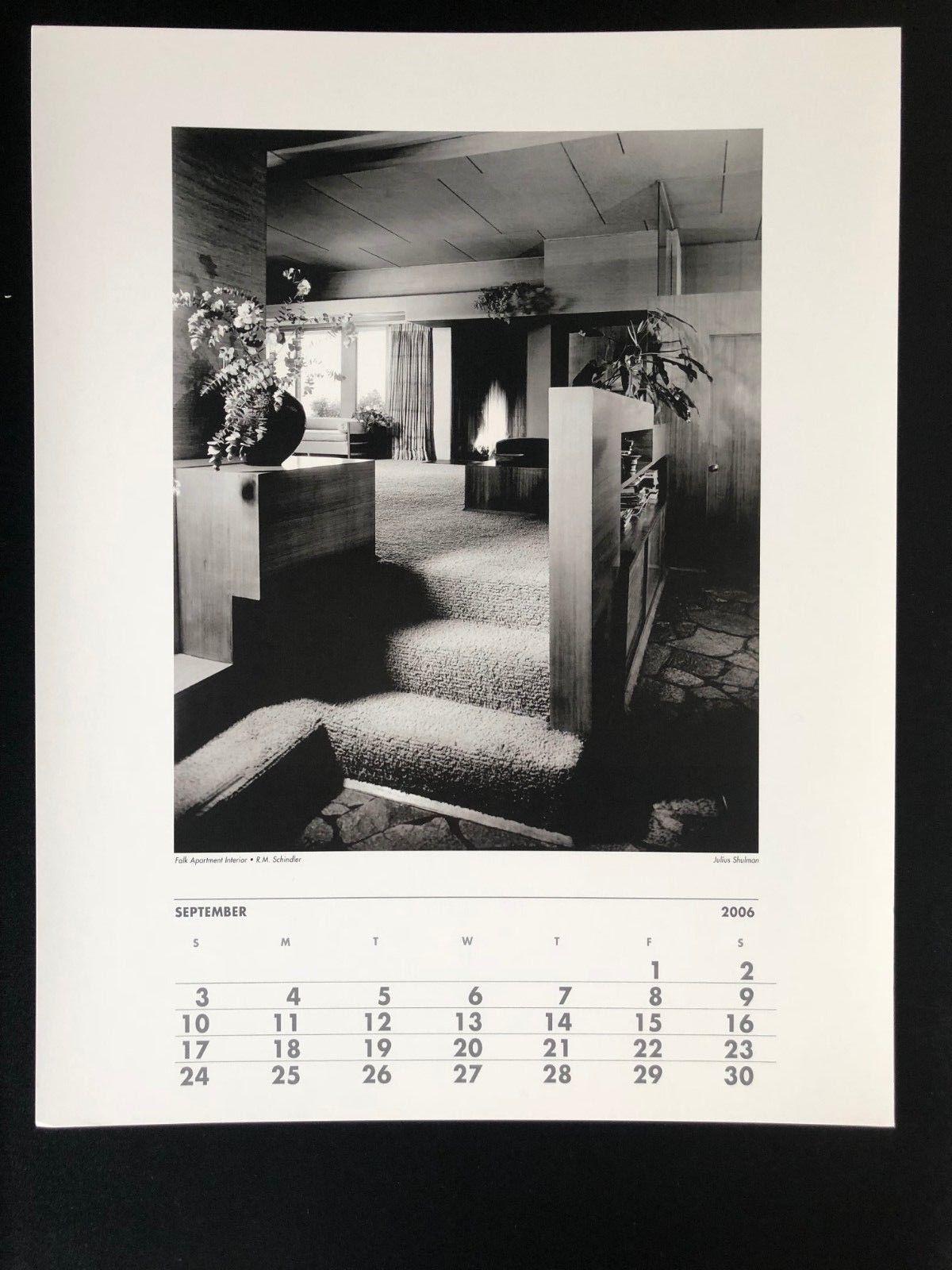 JULIUS SHULMAN Photograph 11x14 Lithograph Portfolio Print Falk Apartment