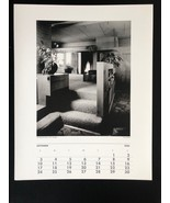 JULIUS SHULMAN Photograph 11x14 Lithograph Portfolio Print Falk Apartment - $23.19