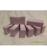 Bulgarian Lavender Soap Bars 8 - 4 Oz Bars  Sulfate Free Base  All Natural - $28.66