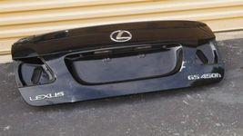 06-11 Lexus GS450H GS 300 350 430 460 450H (S190) Trunk Lid W/ Camera image 7