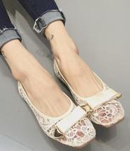 Champagne Bridal Flats,Bridal Shoes,Bridesmaid Shoes, Ballet Flats,Weddi... - £32.69 GBP