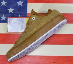 CONVERSE UNRELEASED SAMPLE Chuck Taylor ALL-STAR OX Antiqued-Brown Suede... - $88.88