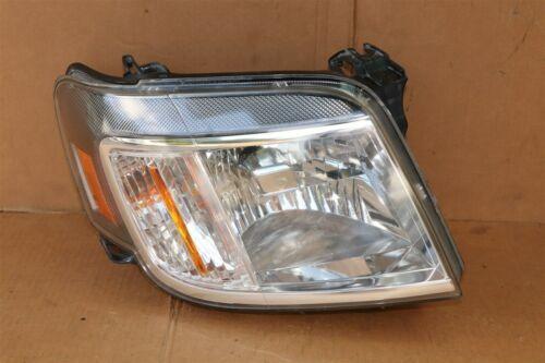 08-11 Mercury Mariner Headlight Head Light Lamp Passenger Right RH POLISHED