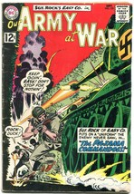 Our Army at War #122 1962- Sgt Rock- DC Silver Age War- Joe Kubert VG - $47.92