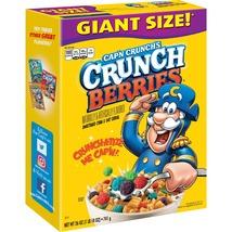 Cap'n Crunch Breakfast Cereal, Crunch Berries, 26 oz Box - $7.00