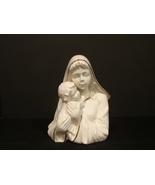 Mikasa Fine Porcelain Holiday Elegance Madonna Child Figurine FK001 Whit... - $10.00
