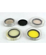 Vintage Lot of Lens Filters 46mm 48mm 49mm Laser LS-1 Hoya Nox4 - $24.28