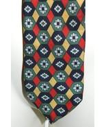VTG FENDI Multi Color Flower / Floral Funkadelic Pattern 100% Silk Neckt... - $74.24