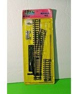 Atlas HO Scale Right Manual #61 Track Switch W/ Extension - $10.88