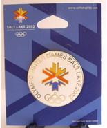 Lapel Pin 2002 Winter Olympics Pin Salt Lake City Logo Hat Pin Enamel Mi... - $22.00